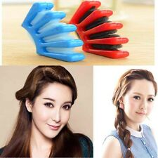 Easy Hair Twist Style Braider Braid Braiding Styling French Plait Sponge Tool Uk