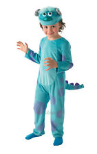 Kids Childs Deluxe Sulley Fancy Dress Costume Outfit Monsters Inc Halloween