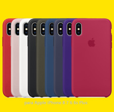 Para Apple iPhone 8 7 6 6s Plus m3 Genuina Original ultra fino funda de silicona