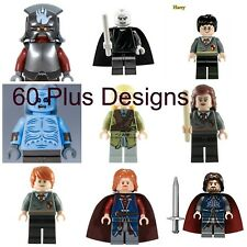 Harry Potter,Game Of Thrones,Walking Dead,Lord Of The Rings Lego las Hobbit