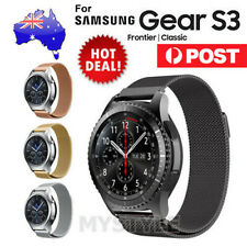 Milanese Magnetic Steel Watch Band Strap For Samsung Gear S3 Frontier Classic OZ