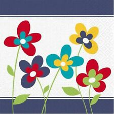 PARTY Senso Unico Tovaglioli 3 Ply 33 x 33 cm fiori design colorato summer BBQ