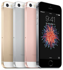 iPhone SE 16GB/64GB/128GB Factory Unlocked Rose Gold/Gray/Silver Smartphone