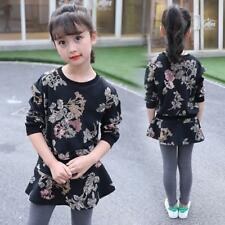 Sports  Print Fashion Kids Suits Floral Clothes Autumn Outfits Active Clothing