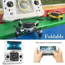 Foldable WIFI RC Quadcopter 2.4GHz 4CH 6-Axis Gyro 3D UFO FPV Nano Camera Drone