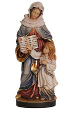 Saint Anne statue wood carved