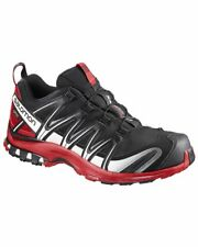 Salomon Xa Pro 3D GTX Gore-Tex Scarpe Uomo, Black/Barbados Cherry/White