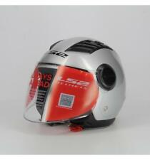 Casco Ls2 Airflow New Long Solid Silver