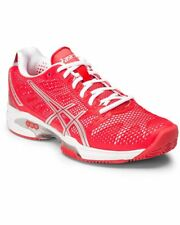 Asics Gel Solution Speed Clay 2 Scarpe Donna, Hibiscus/Silver/White