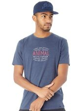 Animal Dark Navy Marl Barrel T-Shirt