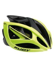 Rudy Project Casco Airstorm, Yellow Fluo/Negro (Mate)