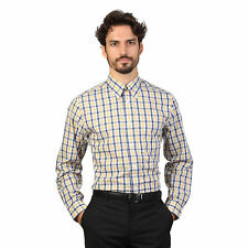 BD 65521  Giallo Brooks Brothers Camicia Brooks Brothers Uomo Giallo 65521 Camic