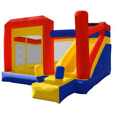 Super Slide Bounce House - Inflatable Kids Jumper with Blower