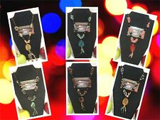 """30"""" Natural Stone Fashion Handmade No Clasps Necklaces"""