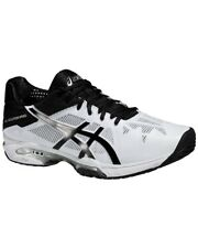 Asics Zapatos Gel-Solution Speed 3, White/Negro/Silver