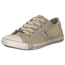 Mustang Donna Sneakers Low Scarpe con lacci casual 1099308-480 beige CHAMPAGNE