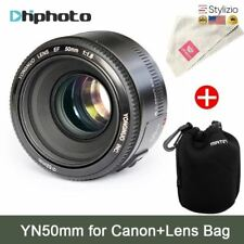 NEW Yn50Mm Lens Fixed Focus Ef 50Mm F1.8 Af/Mf Lense Large Aperture Auto Focus F