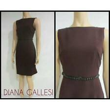 VESTITO ABITO DONNA DIANA GALLESI ORIGINALE 7769R004ZZ39 A/I 2015/16 NERO NEW