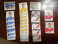 2018 PANINI WORLD CUP RUSSIA STICKERS SINGLES #1-351 (Pick Your Sticker Cards)