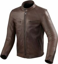 Veste en cuir motorrad Revit Rev'It Gibson Marron cafe racer style rétro