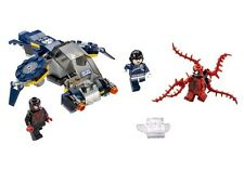 minifigures LEGO MARVEL divided from 76036 Black Spiderman Carnage SHIELD Agent