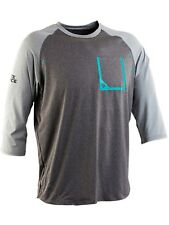 Race Face Black-Grey Stage MTB Jersey ¾ Sleeved