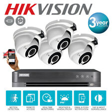 Hikvision CCTV HD 1080P 2.4MP Outdoor 30M Night DVR Home Security System UK  Kit