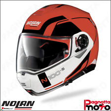 CASCO MODULARE APRIBILE NOLAN N100-5 N100 5 CONSISTENCY N-COM 23 CORSA RED ROSSO