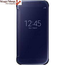Samsung Clear View Etui pour Galaxy S6 Or