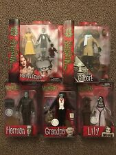Diamond Select The Munsters Lot Of 5 Figures! Includes RARE UNCLE GILBERT TRU