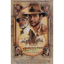 CARTELES ORIGINAL CARTEL INDIANA JONES L ULTIMA CRUZADA