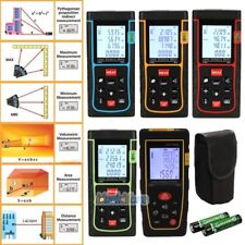 40 60 80 100M Digital LCD Laser Distance Meter Range Finder Measure Diastimeter