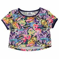 Niños Niñas MY LITTLE PONY ARCO IRIS redonda APPLEJACK Camiseta Top