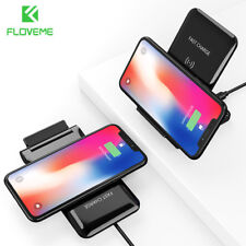 Qi Wireless Fast Charger Charging Pad Dock Stand For Galaxy S9 Plus iPhone X 8+