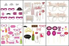 Hen Party Photo Booth Props, Night, Fun, Bride, Favour, Party, Gift Supplies