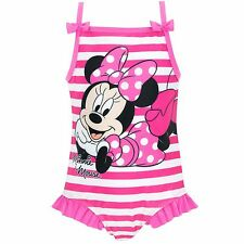 Minnie Mouse Swimsuit | Girls Disney Minnie Mouse Swimming Costume | Swimwear