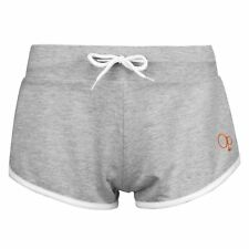 WOMENS LADIES GREY OCEAN PACIFIC CASUAL GYM YOGA BEACH JOGGING HOT PANTS SHORTS