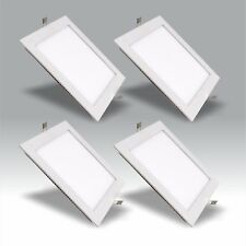 Bright Square LED Ceiling Down Light Panel Wall Kitchen Bathroom Lamp Warn White