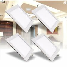 Square LED Crystal Ceiling Down Light Panel Wall Kitchen Bathroom Lamp Cool UK