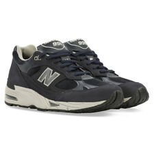 NEW BALANCE 991 MADE IN UK NAVY BLUE LEATHER US 8,5 10 UK 8 9,5 EU 42 44 M991NPN