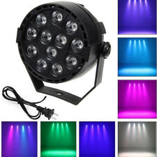 RGB Stage Light 12 LED 8CH DMX512 Lighting Laser Projector Lamp Party Club Home