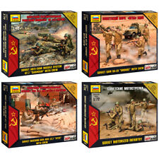 "ZVEZDA Model Kits ""Soviet Modern Soldiers & Light Weapons, Hot War"""