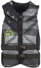 Ronix FORESTER CAPELLA Weste 2016 black/grey plaid Wakeboard Neo Vest