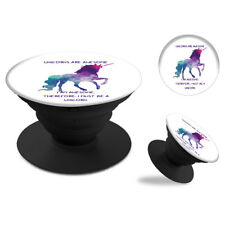 Unicorn Printed Pop-Up Expanding Grip for Smartphones and Tablets - E 0009