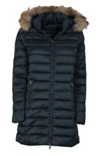 PIUMINO DONNA HETREGO MOD. 8E663M ORTLES COL. NVY BLU