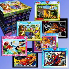 Disney Puzzle Cars WINNIE POOH Princesa GUARDIA el león, Paw Patrol, SPIDER-MAN