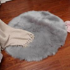 Hairy Carpet Sheepskin Chair Cover Bedroom Mat Artificial Wool Warm Seat Textile