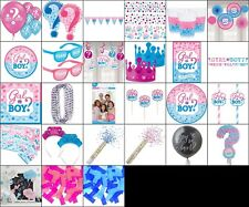GENDER REVEAL PARTY SUPPLIES BABY DECORATION; TABLE WEAR; PHOTO PROP PARTY