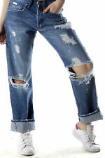 GR 71806 Blu jeans donna sexy woman sexy woman donna jeans tasche chiusura front