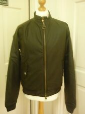 Barbour steve mcqueen merchant wax bomber Jacket,new with tags on,in xxl
